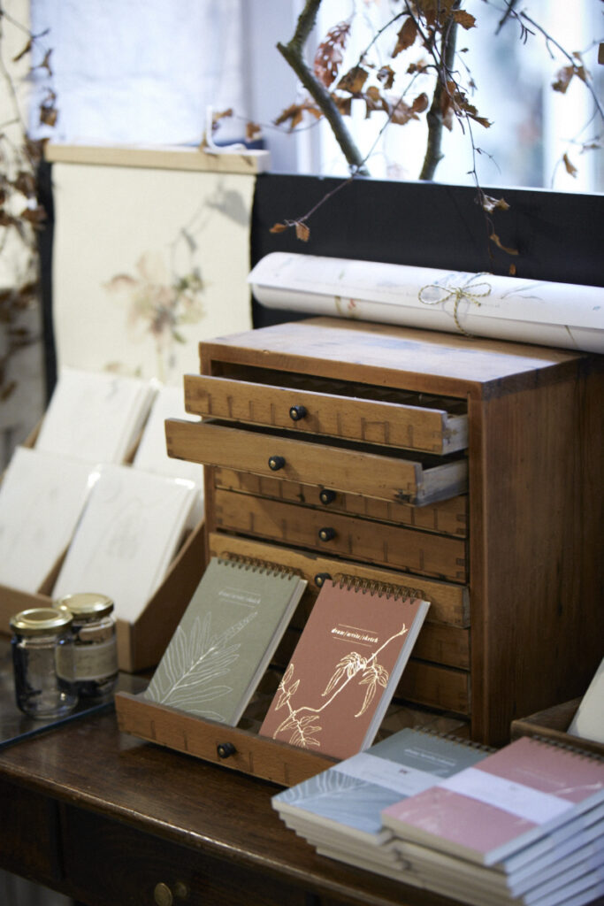 Gorgeous notebooks, keepsakes, cards, paper, just a snippet of Suzanne's endless creativity.